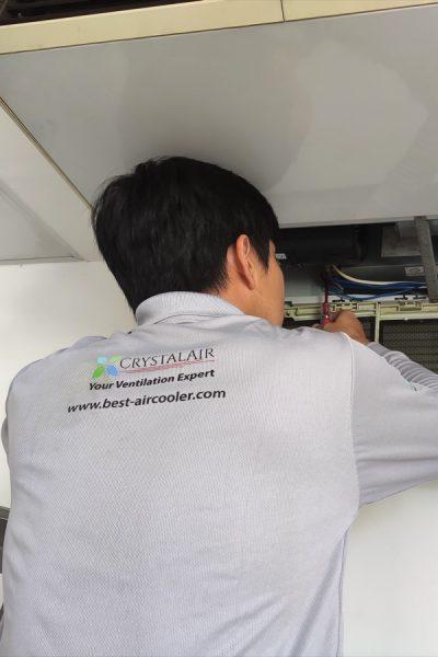 CrystalAir Aircond Repair Photos