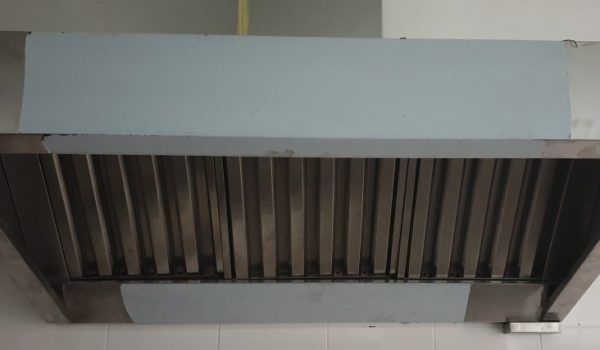 5′ long exhaust hood
